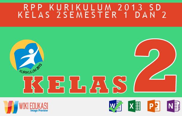 RPP KURIKULUM 2013 SD KELAS 2 SEMESTER 2 - Keselamatan di Rumah dan Perjalanan Hasil Revisi Terbaru