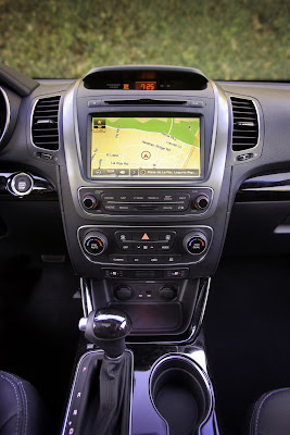 kia sorento 2013 interior navigation screen