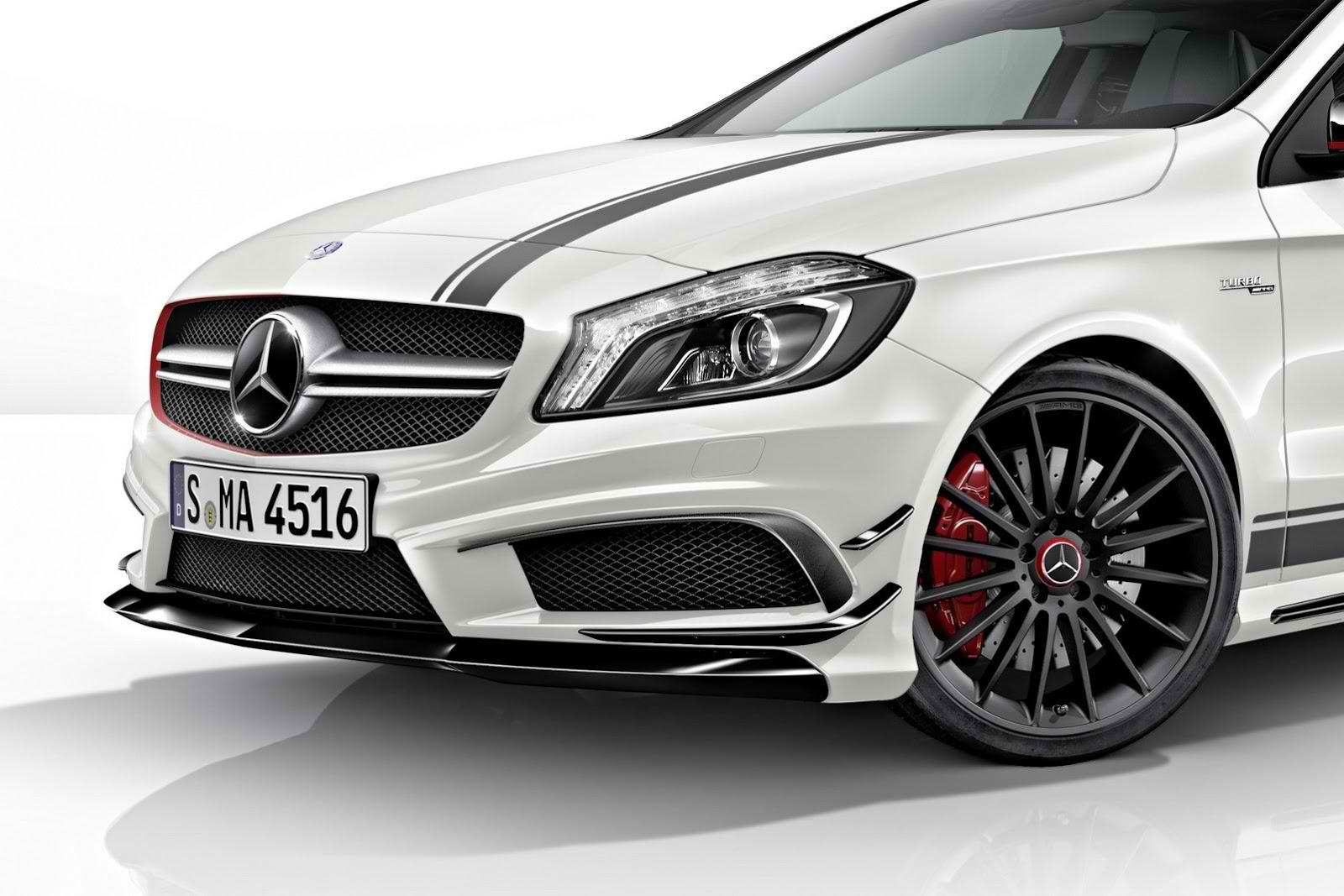 auto pass mercedes cla 45 amg edition 1. Black Bedroom Furniture Sets. Home Design Ideas