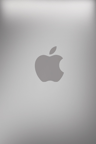 Apple iphone back Logo