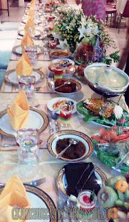 set makan berdamai dalam catering cantik