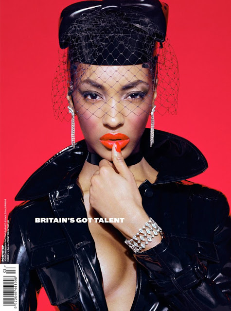 Jourdan Dunn sexy on magazine