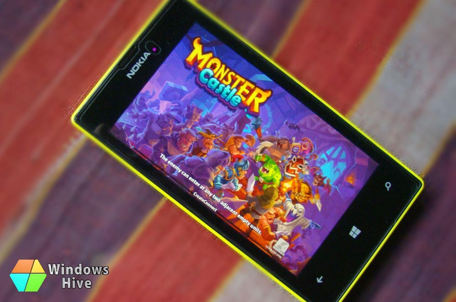 Monster castle on Windows Phone, games, apps