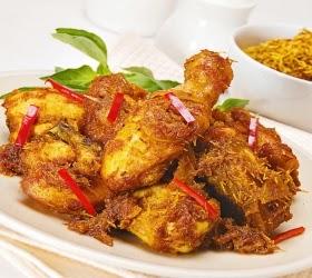 Indonesian Original Recipes Chicken Rendang Recipe Resep Ayam Rendang Indonesian