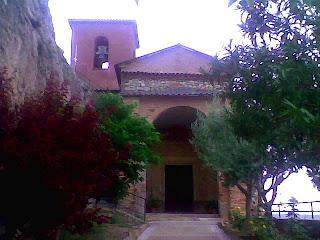 Iglesia de Santa María Magdalena en Hoz de Barbastro (Somontano, Huesca, Aragón, España)