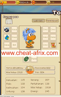 Cheat Perjaungan Semut 5000000 Gold