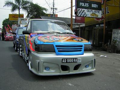 tentang Gambar modifikasi mobil pick up paling Keren Dan Funky yang ...