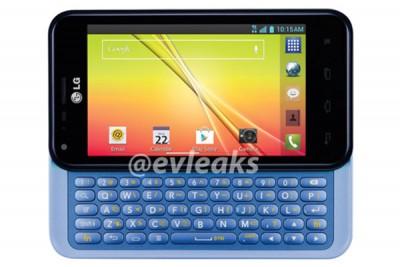 LG Optimus F3Q, Ponsel Android Jelly Bean dengan Keyboard Geser