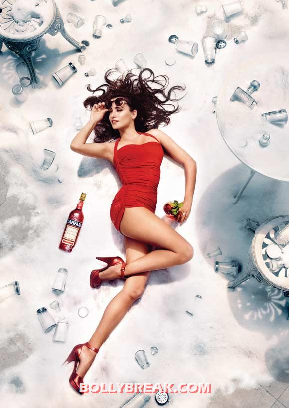 Penelope Cruz for Campari - (9) - Penelope Cruz sexy Campari Calendar