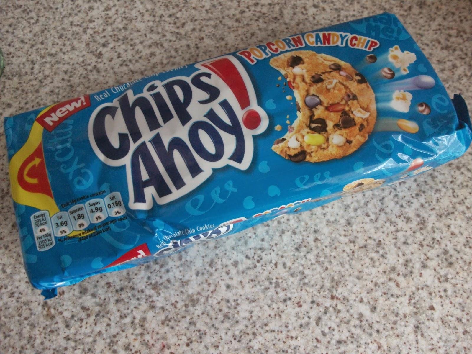 Chips Ahoy Cookies uk Chips Ahoy Cookies Popcorn