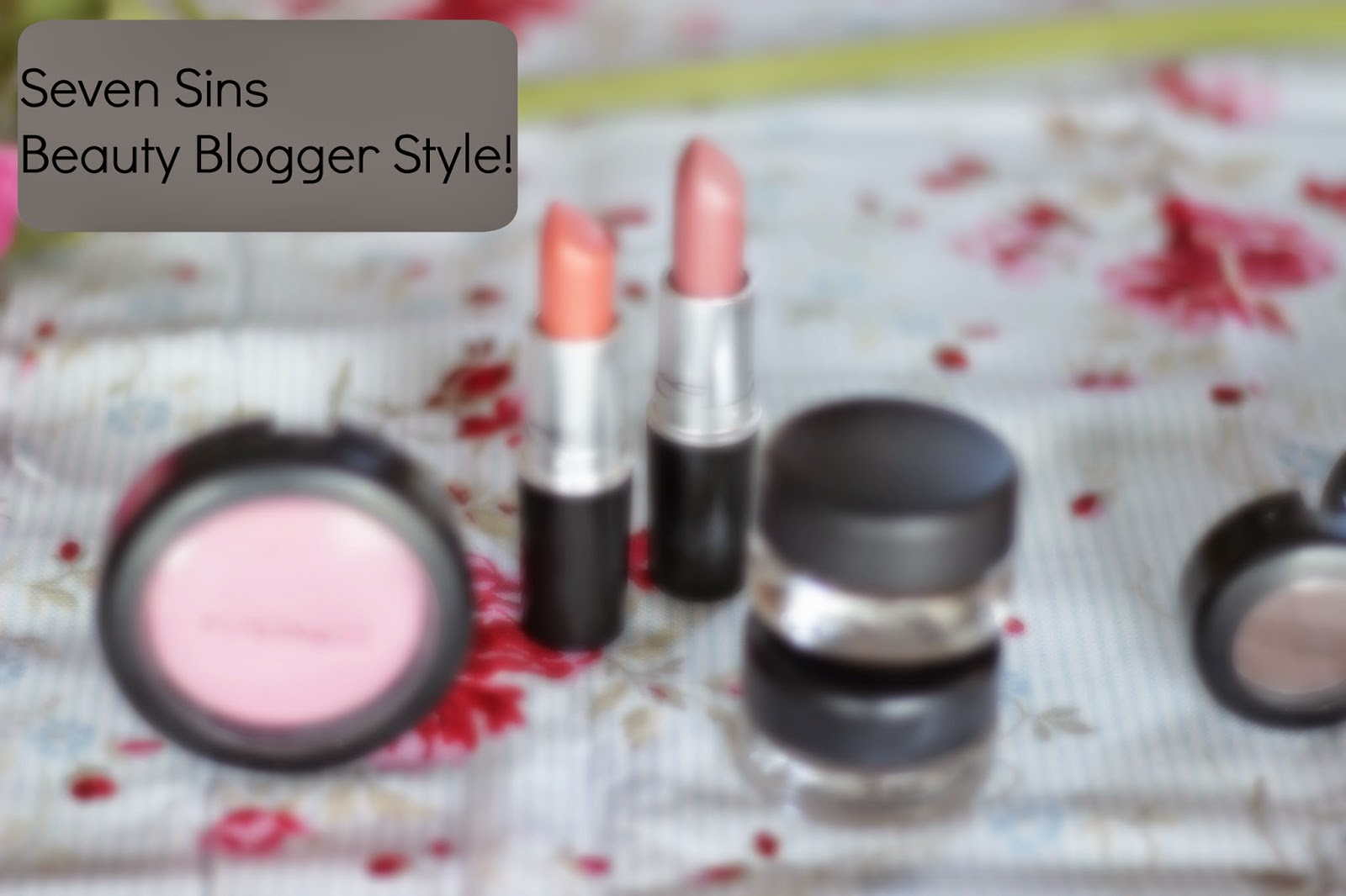 seven sins beauty blogger style