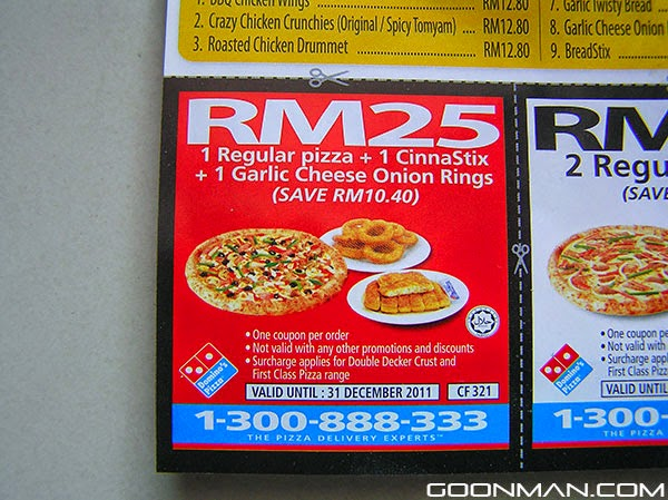 Dominos coupons 40