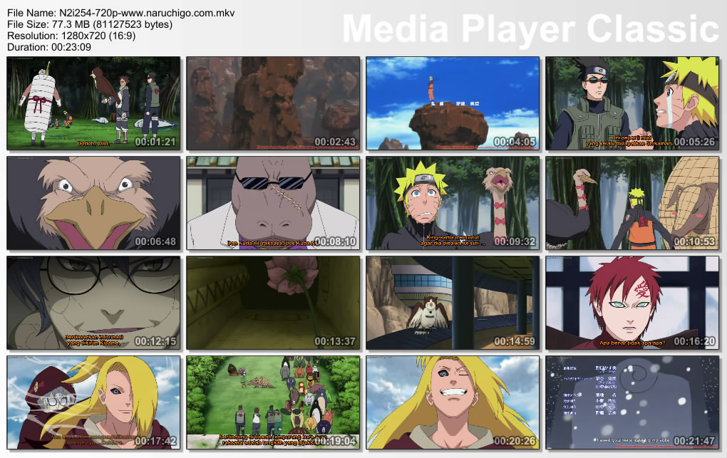 DOWNLOAD FILM NARUTO SHIPPUDEN EPISODE 254 SUBTITLE BAHASA INDONESIA