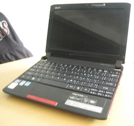 jual netbook second acer aspire one 532h
