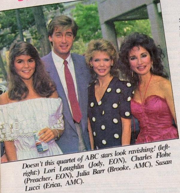 EON October 1983: Lori Laughlin, Charles Flohe