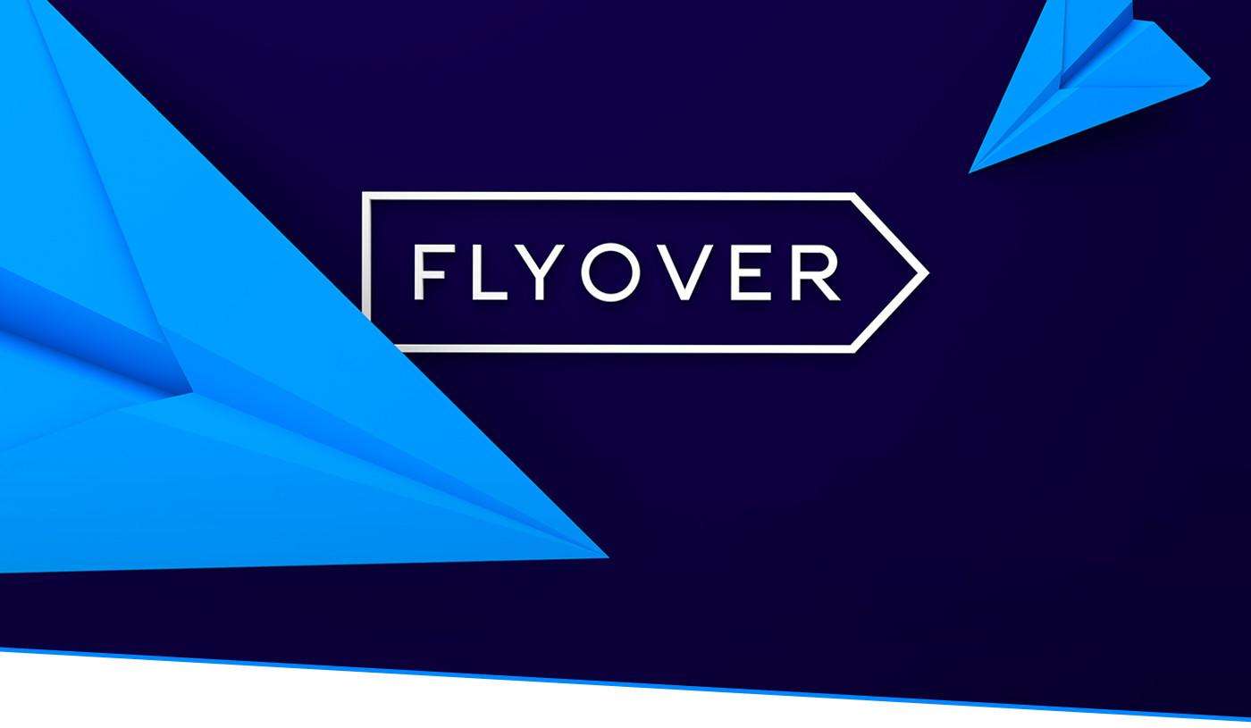 Flyover - Branding Icon Design Web Design