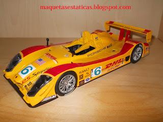 coche a escala 1/24 Porsche RS Spyder Type 9R6