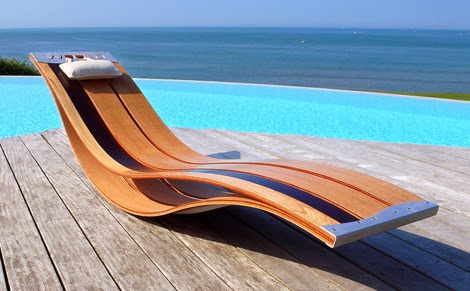 modern lounge chair layout design by poozdesign