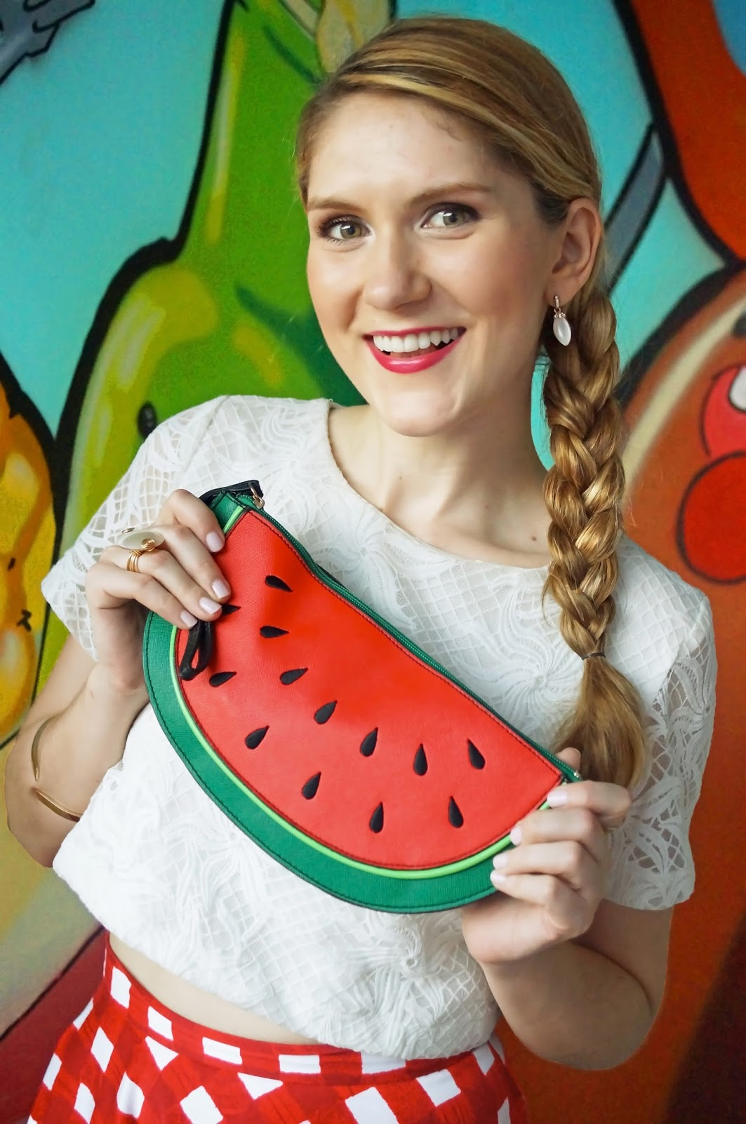 Super cute watermelong clutch!