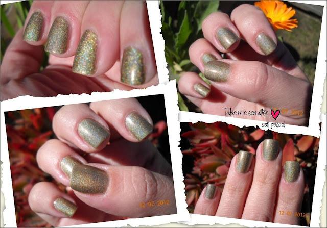 Princess sabra aengland holographic nail polish nails uñas esmaltes