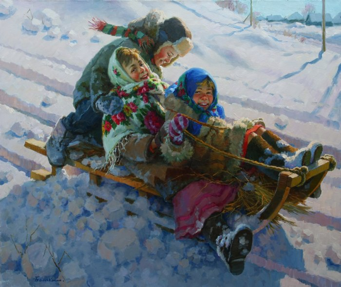 Богатая цветовая палитра. Евгений Балакшин