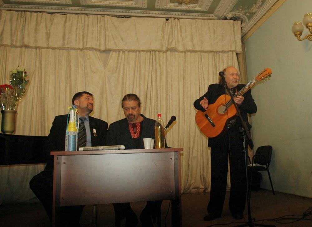 поёт Виталий Бабенко