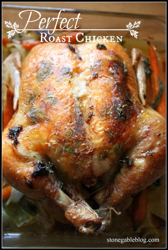 Ina Garten's Perfect Roast Chicken With A StoneGable Twist ...