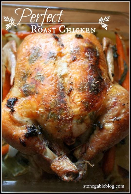 Ina Garten Blog ina garten's perfect roast chicken with a stonegable twist