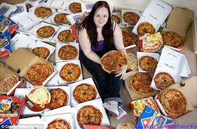 fobia alimentos pizzas 8 años