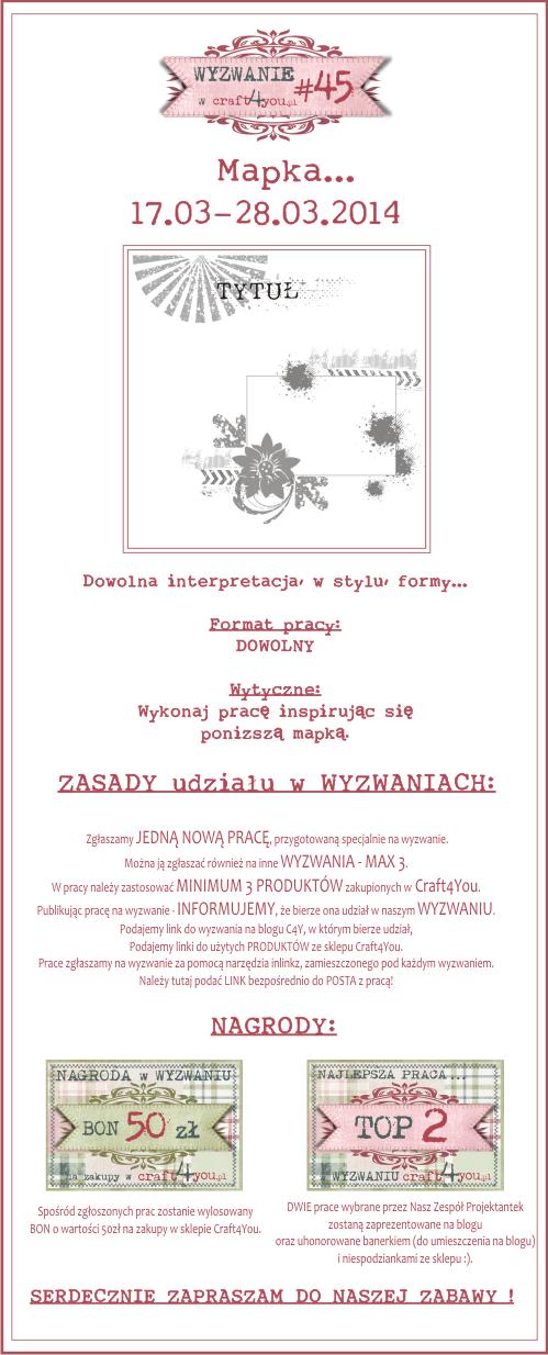 http://craft4youpl.blogspot.com/2014/03/wyzwanie-45.html