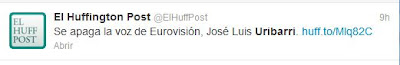 Medios como El Huffington Post dieron la noticia pese a no haberse producido