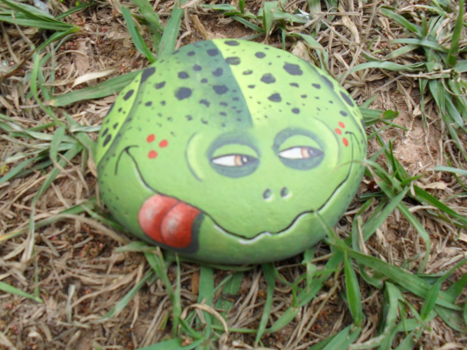 Frog Rock Craft