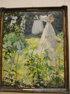 A Convent Garden, Brittany, at National Gallery of Ireland in Dublin