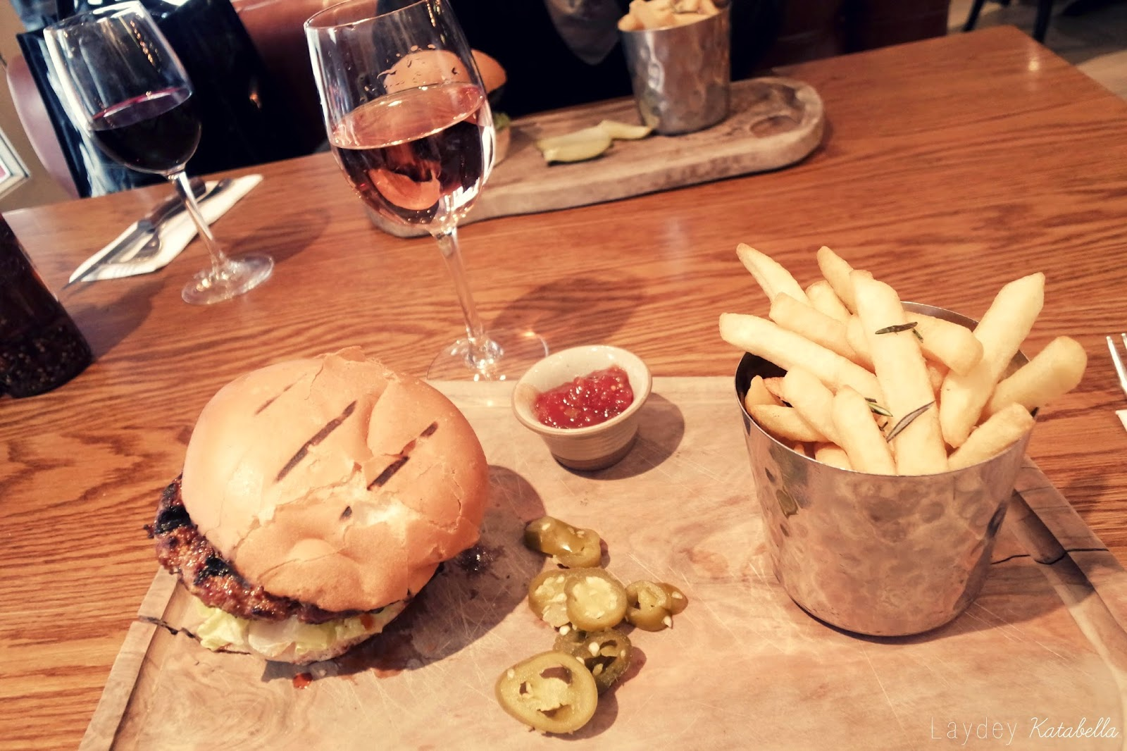 burger wildwood resturant covent garden