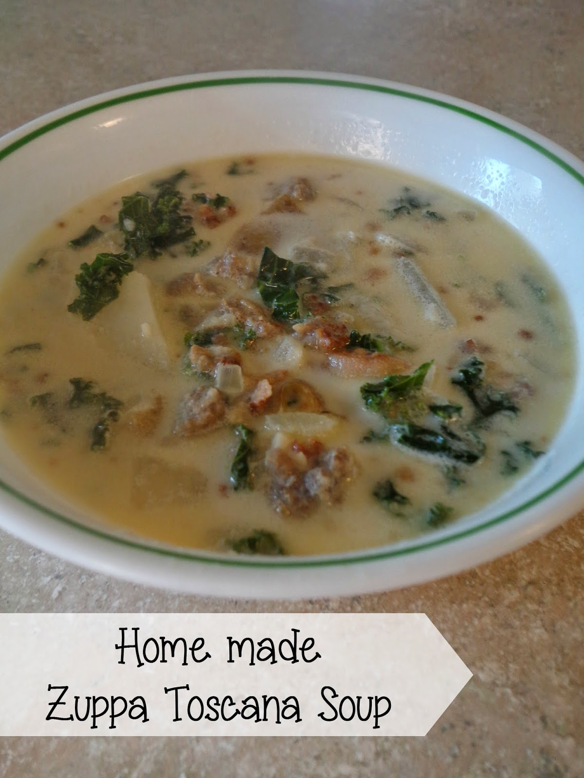 How to make Zuppa Toscana Soup - The Colbert Clan