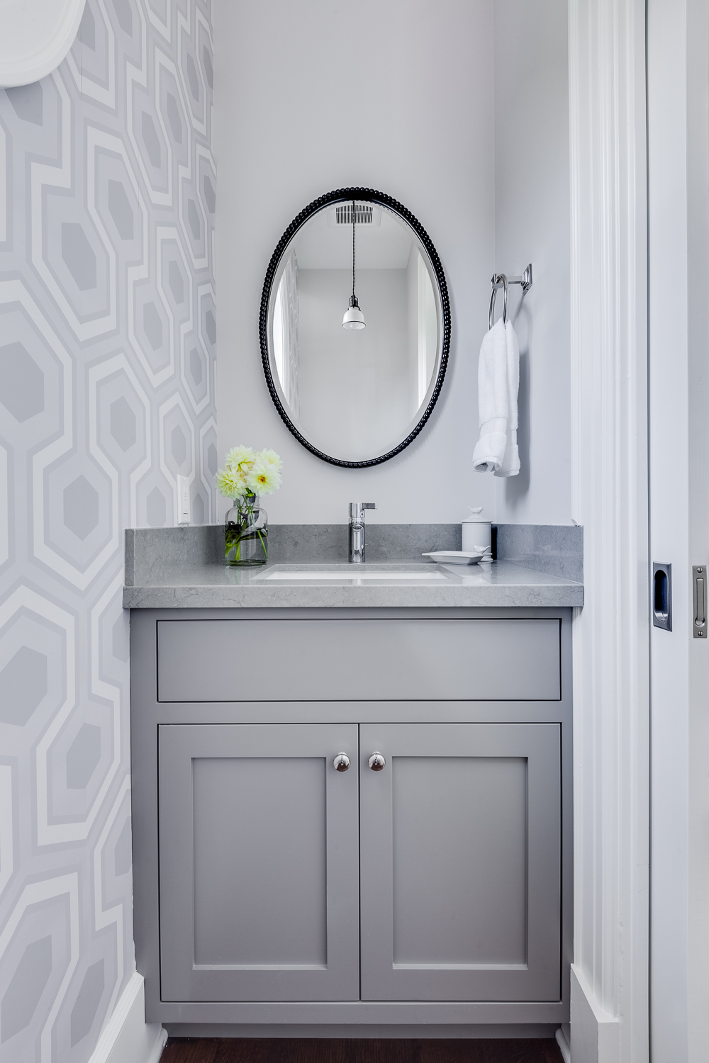 Palo Alto Remodel by Lindsey Chambers powder room