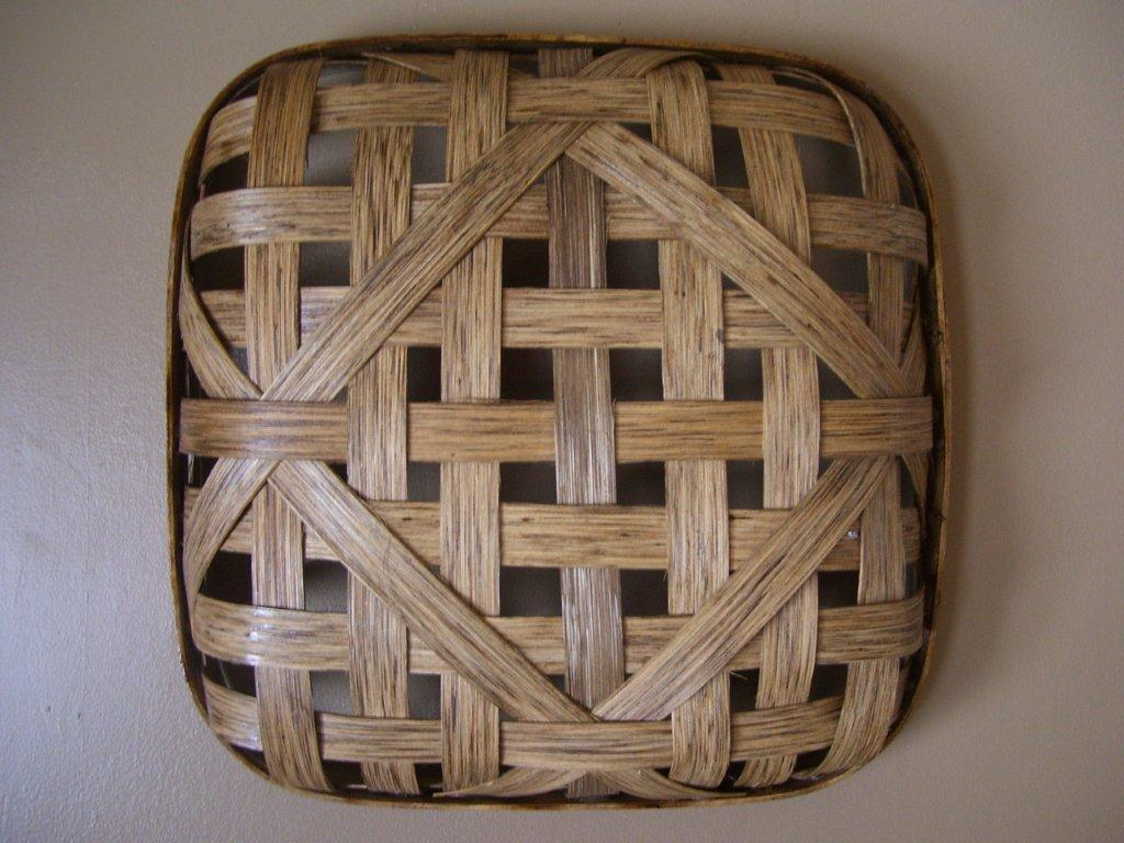 Art Baskets For Sale : Everyday ellie the humble tobacco basket