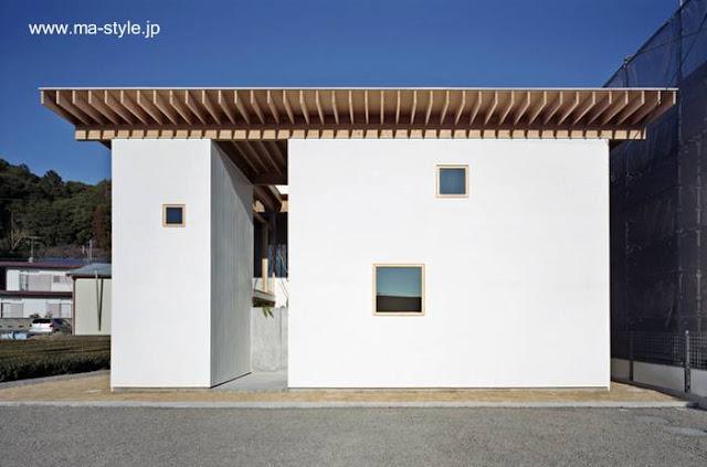 Casa pequeña contemporánea japonesa