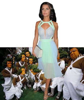 Lucy Mecklenburgh Oompa Loompa beauty queen