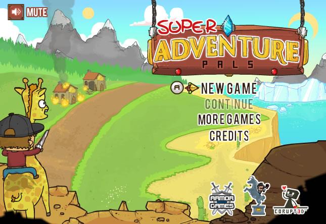 Unblocked Game : Super Adventure Pals