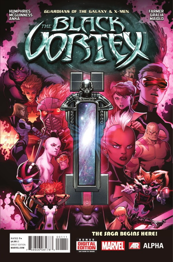 The Black Vortex -The All-New X-Men and Gurdians of the Galaxy