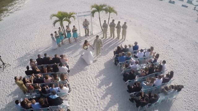 We Specialize In Helping You Capture Your Beach Wedding Gorgeous Aerial Video Shot By Our High Tech Drone