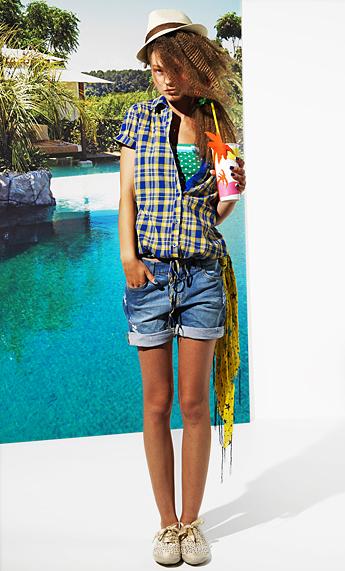 shorts vaqueros verano 2011