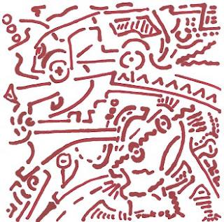 Zeichnung Bild / painting picture : Meer und Land / land and see