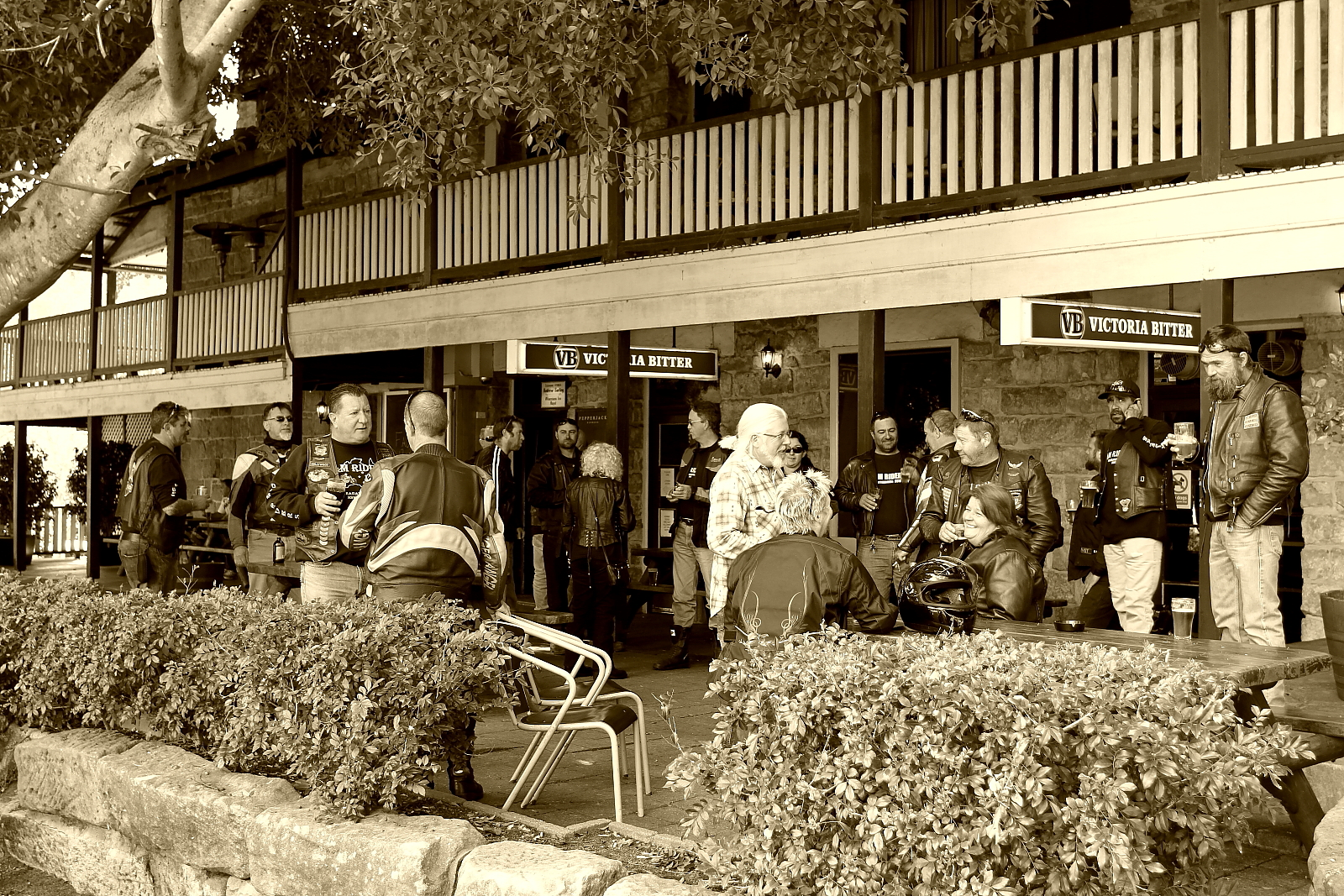 Dam Riders Wisemans Ferry Hotel St Abans Pub Run October 2012