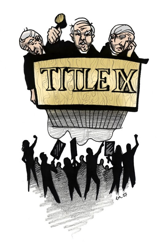 """women and sports title ix According to the women's sports foundation, """"it is no accident that 80% of   within six years after title ix of the education amendments was."""