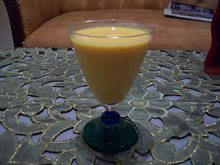 عصير الجزر مع الحليب