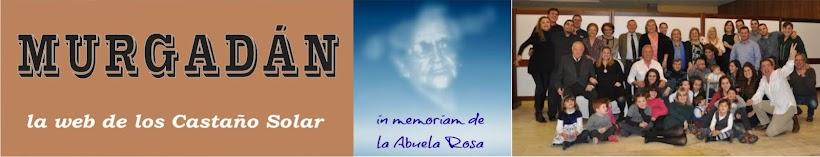 "MURGADAN  ""LA WEB DE LOS CASTAÑO-SOLAR"""