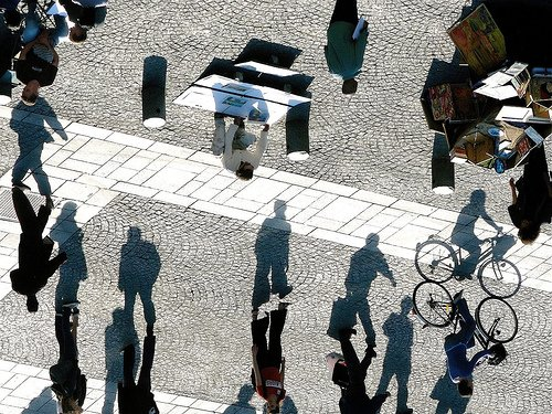 cool shadow optical illusion
