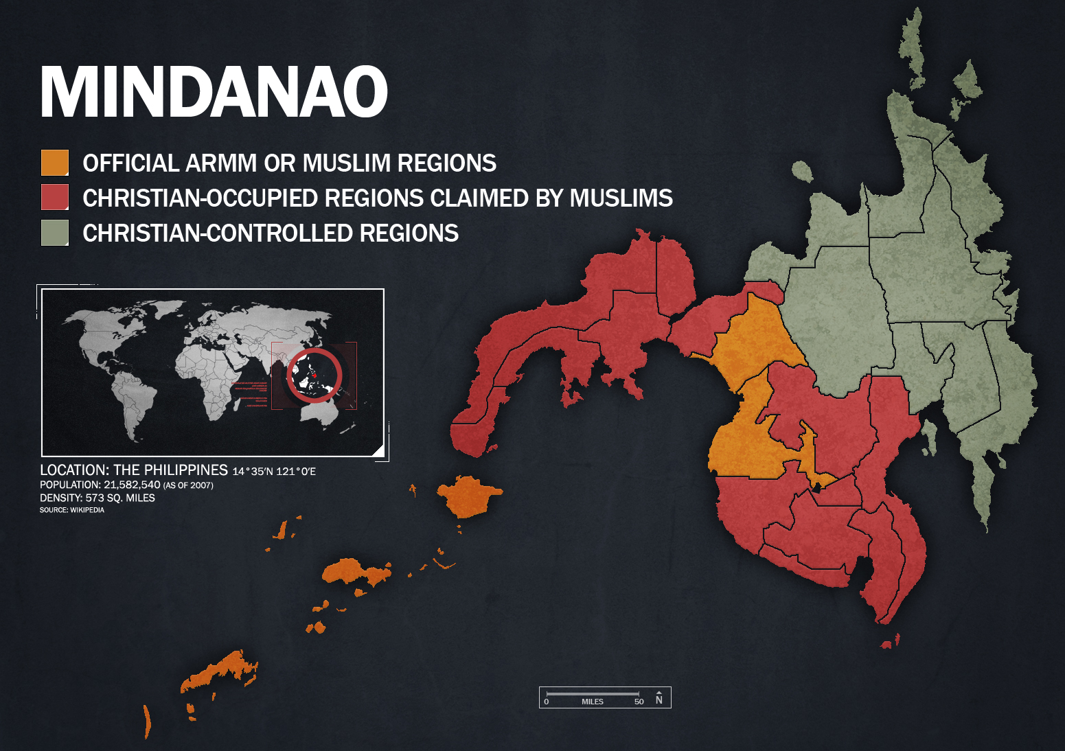 islam in the philippines Mindanao, island, the second largest (after luzon) in the philippines, in the  southern part of the  their culture has been greatly influenced by islam it will be  an.